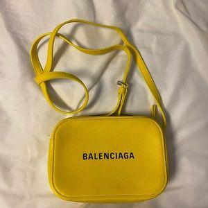 Balengciaga extra small calfskin leather bag